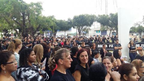 Sorriso em Greve! #BrasilEmGreve #GreveGeral