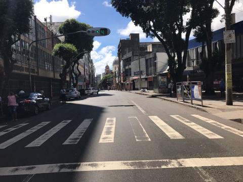 Rua vazia em Salvador, AGORA! #GreveGeral #BrasilEmGreve