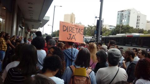 No Rio de Janeiro o povo também está nas ruas! #BrasilEmGreve #GreveGeral
